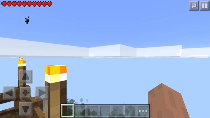 《マインクラフトPE》♯3塔編 塔の上から設計・作り方を構想しよう08