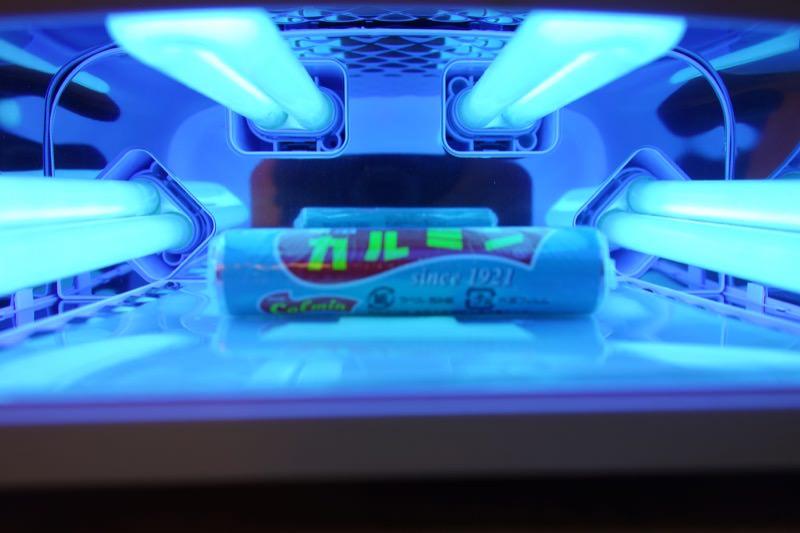 【実験】お菓子カルミン生産終了!まるごと永久保存キーホルダーにしてみた25