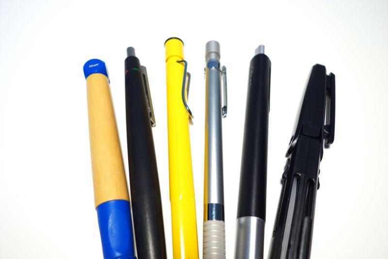 ペンケースに納まるペン型ハサミ レイメイ藤井 ペンカット SH601B01