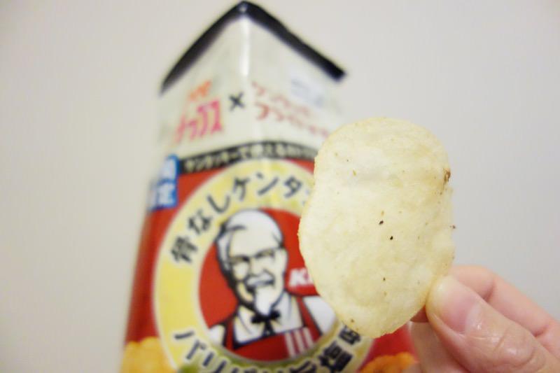 【レビュー】ポテトチップス×ケンタッキー 骨なしケンタッキーパリパリ旨塩味10
