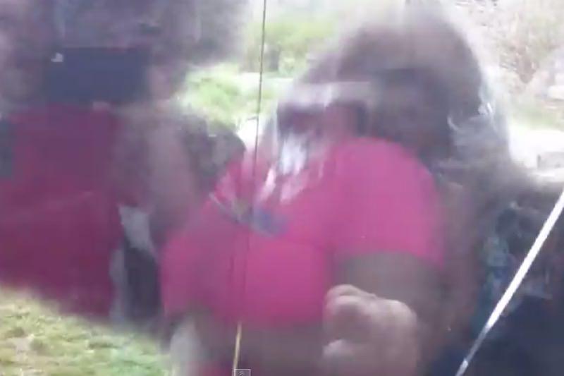 【動画】これは怖い!ゴリラの体当たりアタックでガラスにひび割れ!06